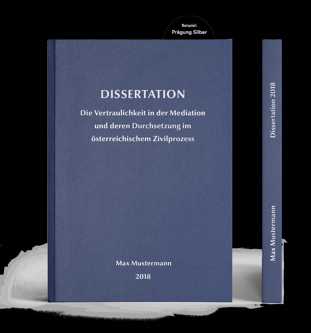 thesis drucken und binden kosten