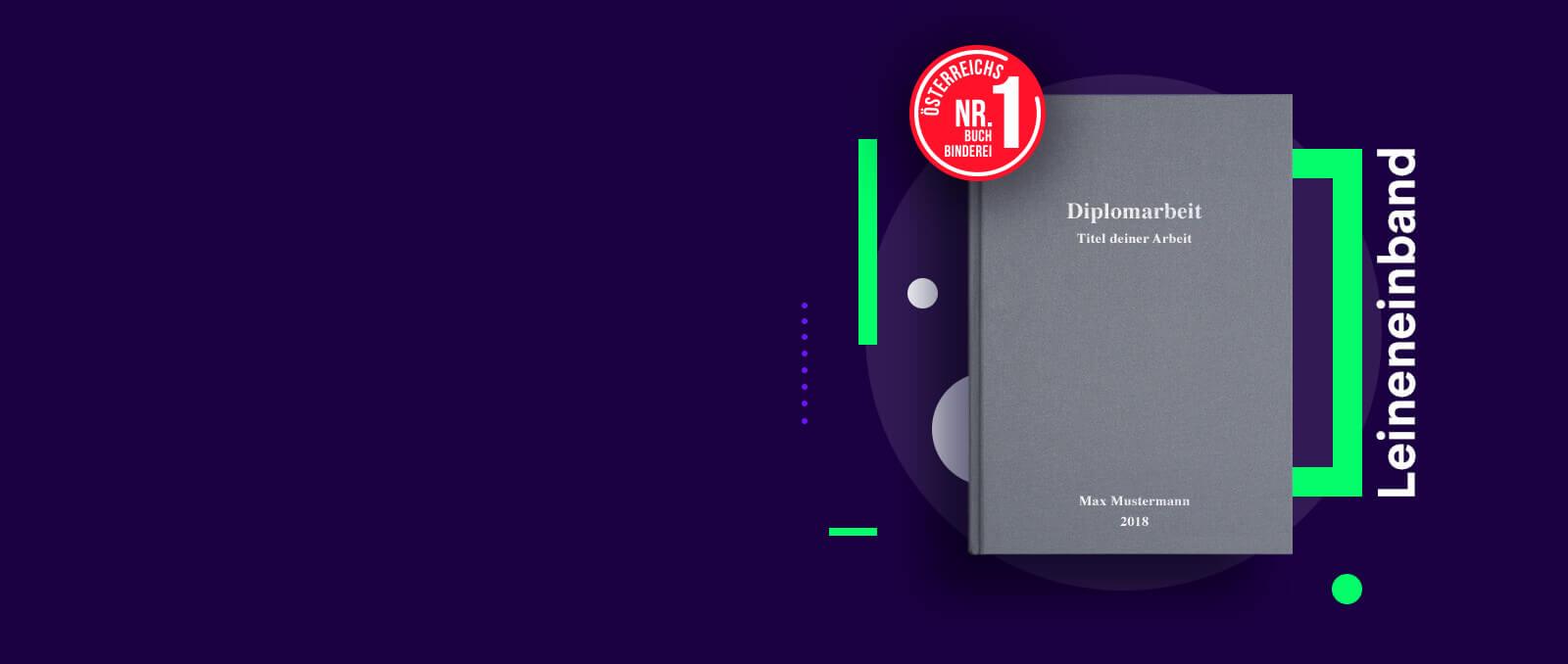 finito Österreichs Nr. 1 Buchbinderei für Diplomarbeiten