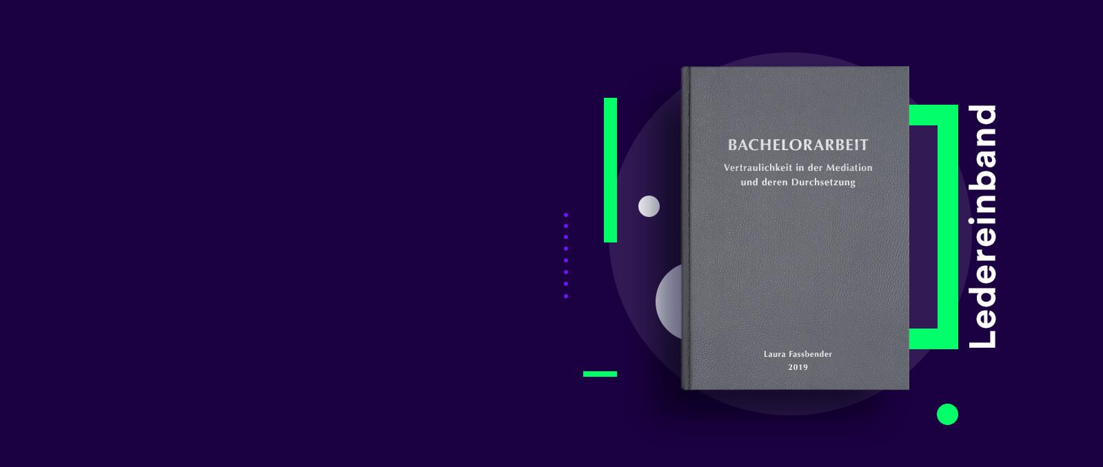 Bachelorarbeit drucken binden Innsbruck
