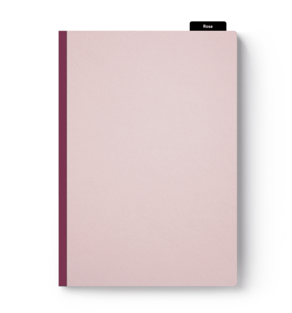 Klebebindung Softcover rosa drucken & binden