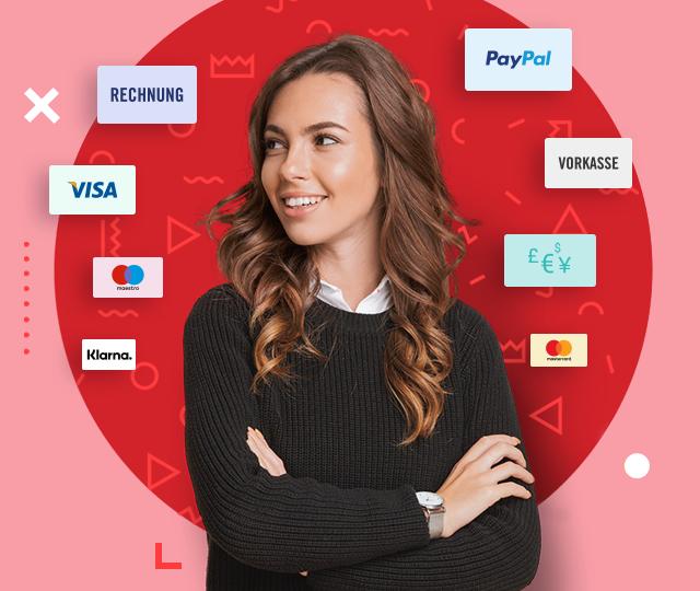 Finito bequem bezahlen Klarna, Kreditkarte, Paypal