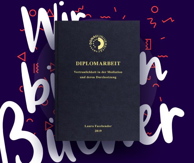 Diplomarbeit drucken & binden Donau Uni Krems