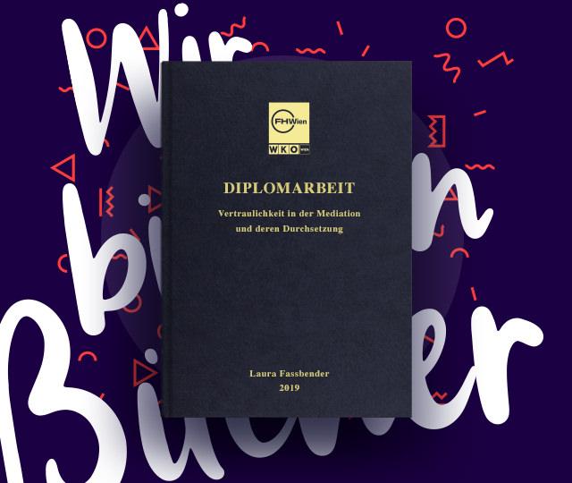 Diplomarbeit drucken & binden FH Wien